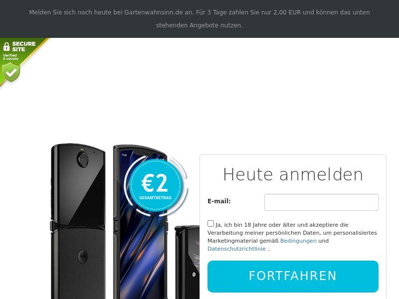 Motorola Razr - DE
