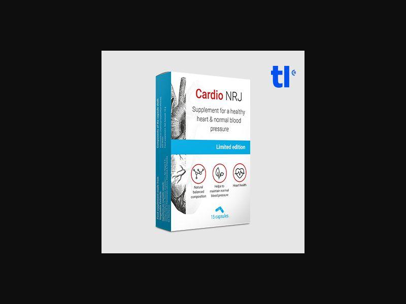 Cardio NRJ - health - CPA - COD - Nutra