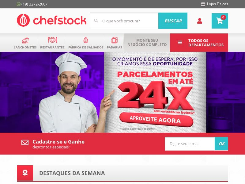 Chefstock BR CPS