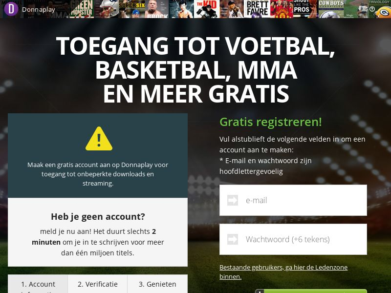 AdCenter Sports Streaming (BE) - CPA, Free Trial, CC Submit, Multi-Geo