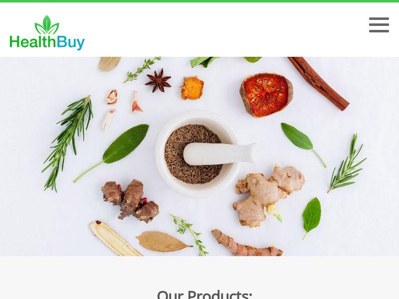 * Health Buy Store Rev Share