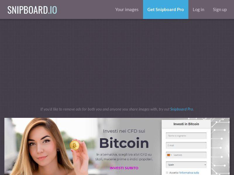 41390 - IT - Crypto - Fortissimo - Bitcoin - (IT) - CPA - [min FTD 200€]