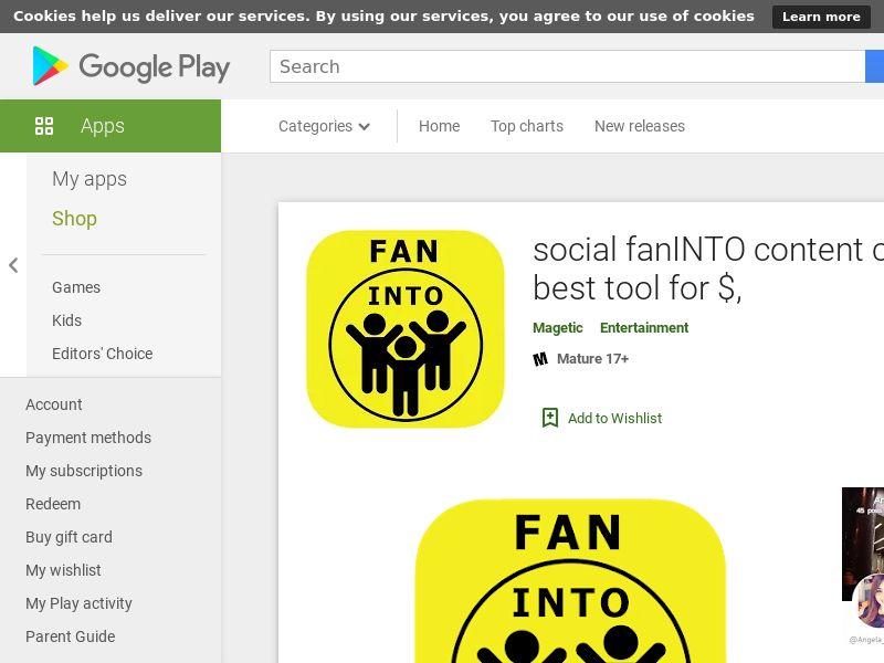 social fanINTO Android - CY