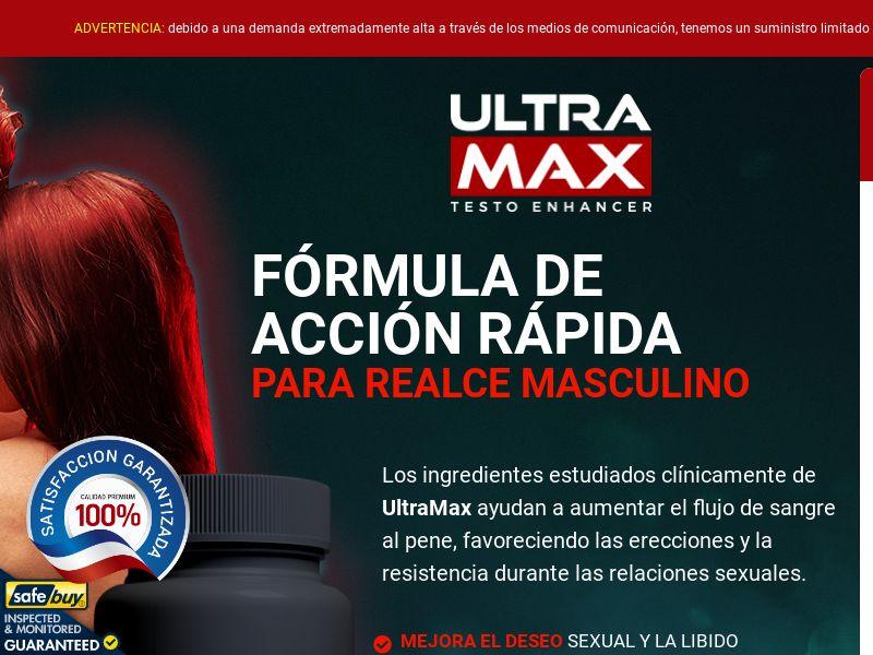 UltraMax Testo - Spanish [LATAM,ES] (Social,Banner,PPC,Native,Push,SEO,Search) - CPA {No Email}