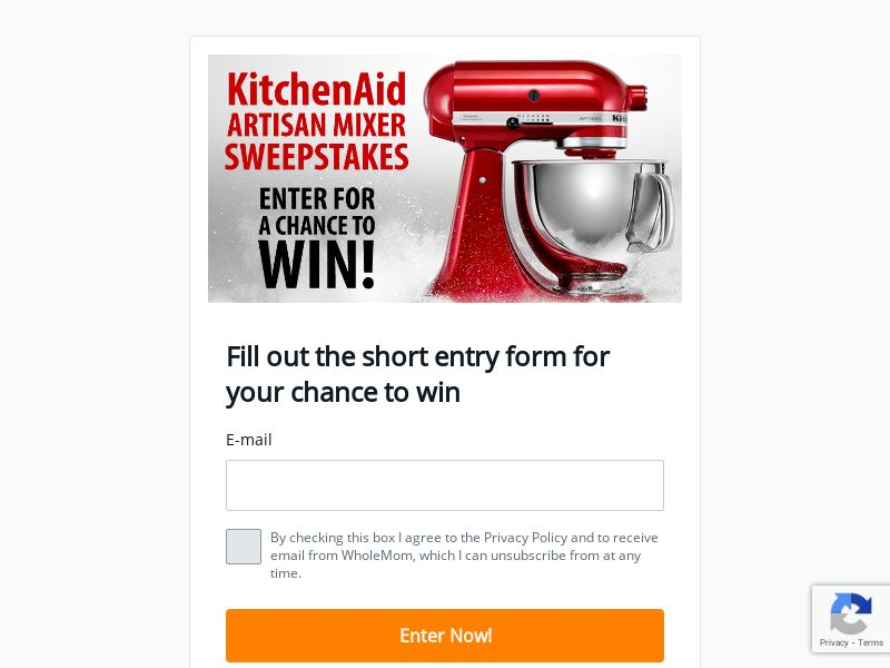 KitchenAid Artisan Mixer Sweep - First Page - US - CPL