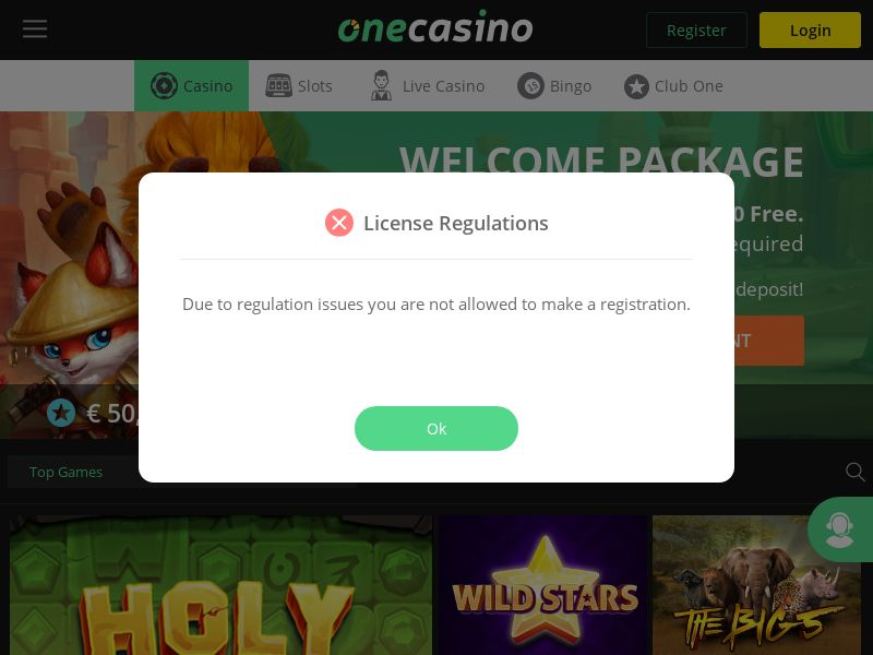 One Casino CPL