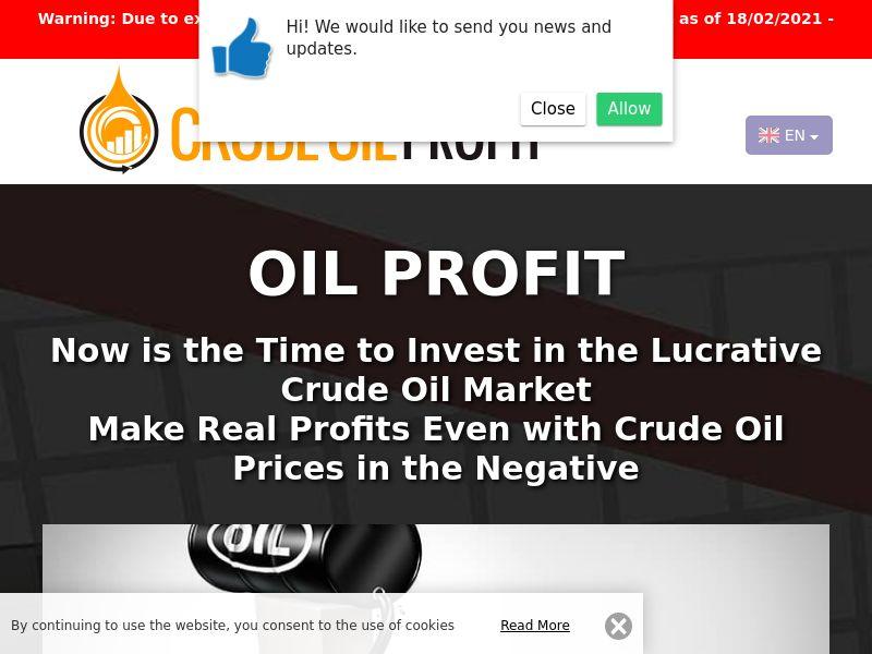 Oil Profit Dutch 3252