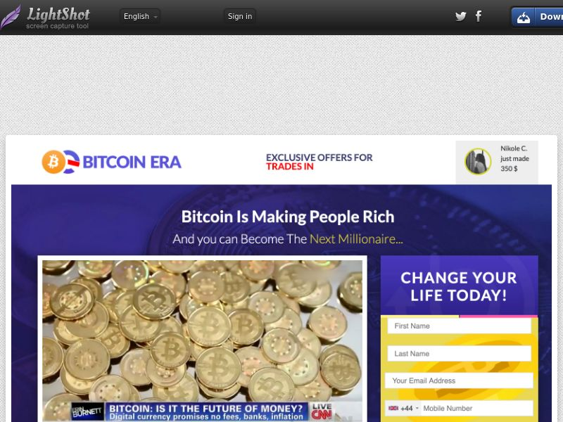 Bitcoin Era CPA UK -Email only