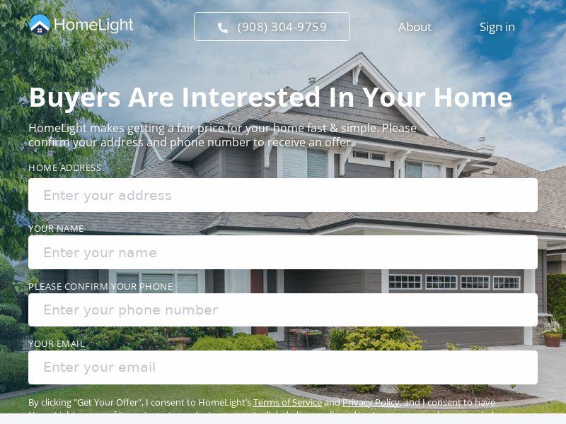 HomeLight Smiple Sale - One Click Cash Flow - CPL - US