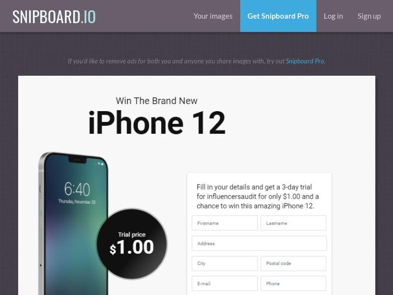 38972 - US - OrangeViral -Zeydoo- iPhone 12 - US/CA/AU - CC submit