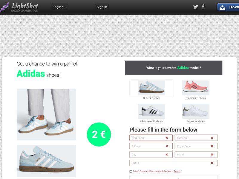 Adidas v3 IT