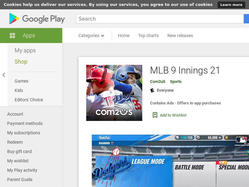 MLB 9 Innings 20 AND KR