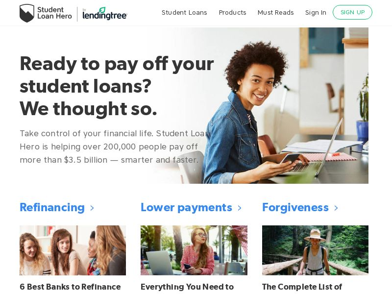 Student Loan Hero (Simple Tuition by Lending Tree)