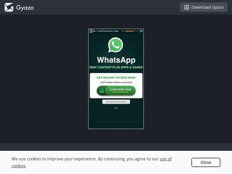 ZA - Whatsapp - MTN