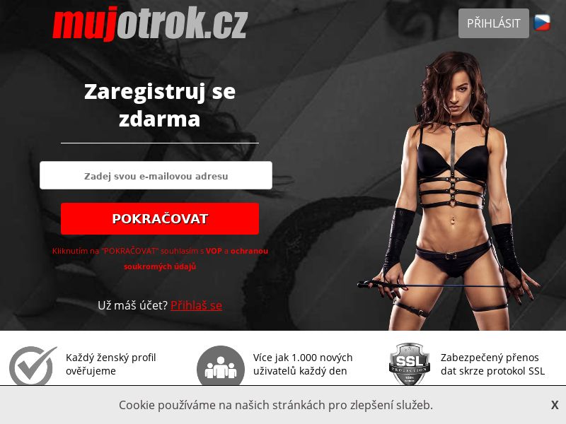 mujotrok - CZ (CZ), [CPL], For Adult, Dating, Content +18, Double Opt-In, Email Submit, women, date, sex, sexy, tinder, flirt