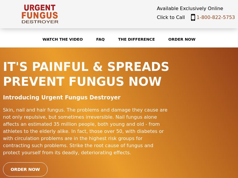 Urgent Fungus Destroyer - (US,UK,NZ,AU)