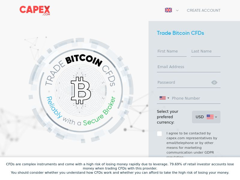 CAPEX.com - BITCOIN -CPA - EU T2