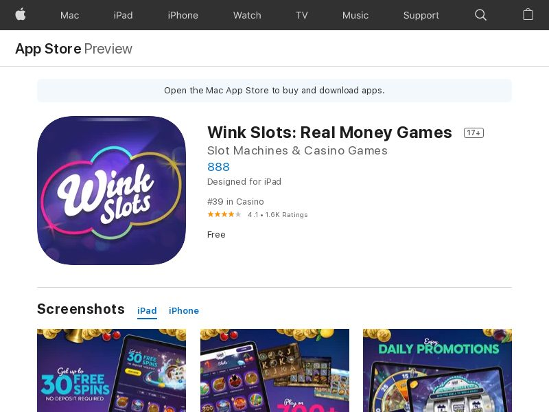 Wink Slots IOS UK (Bingo)_Non - Incent_CPA