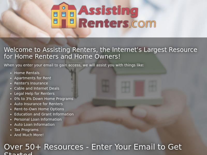 Assisting Renters - First Page - CPL - US
