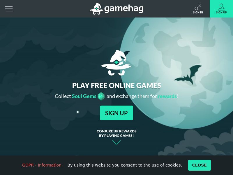 Gamehag, Play Online Games, Gain Real Rewards 250SG - US/RU