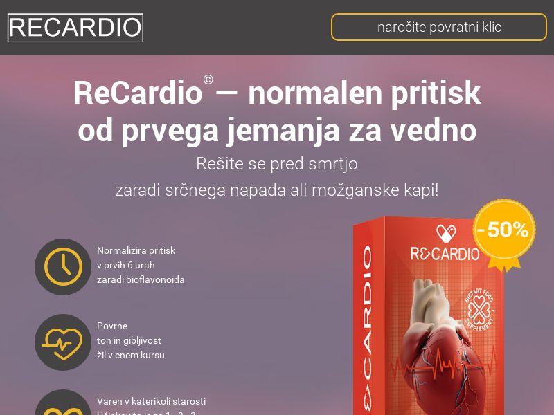 ReCardio SI - pressure stabilizing product