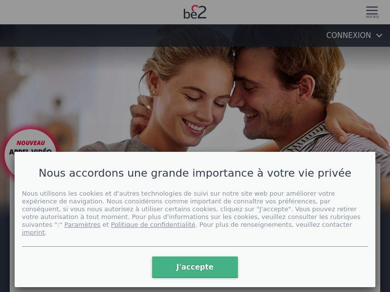 Dating - Be2 (FR) - DESKTOP