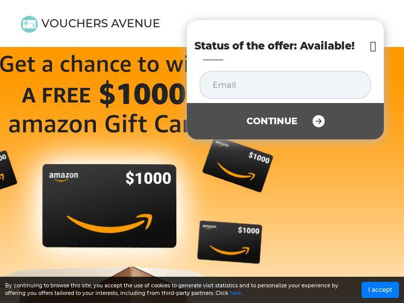 Amazon $1000 Sweep US