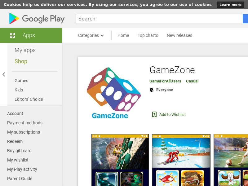 GameZone - Android - Int'l