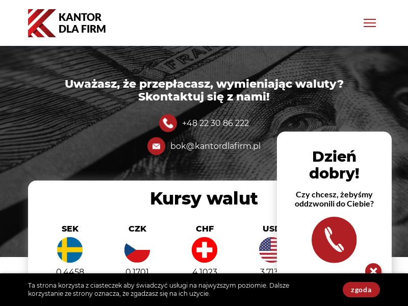 Kantor dla Firm - PL (PL), [CPA | CPS], Business, Investment platforms, Forex, Sell, bitcoin, cryptocurrency, finance, money