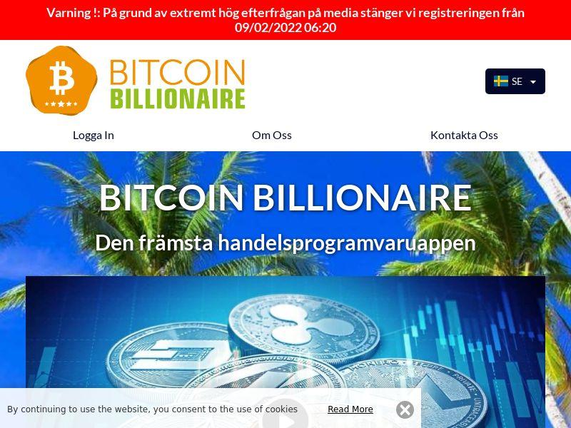 Bitcoin Billionaire Swedish 1094