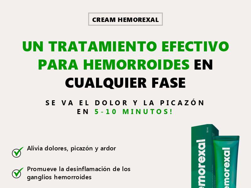 Hemorexal ES - hemorrhoids treatment