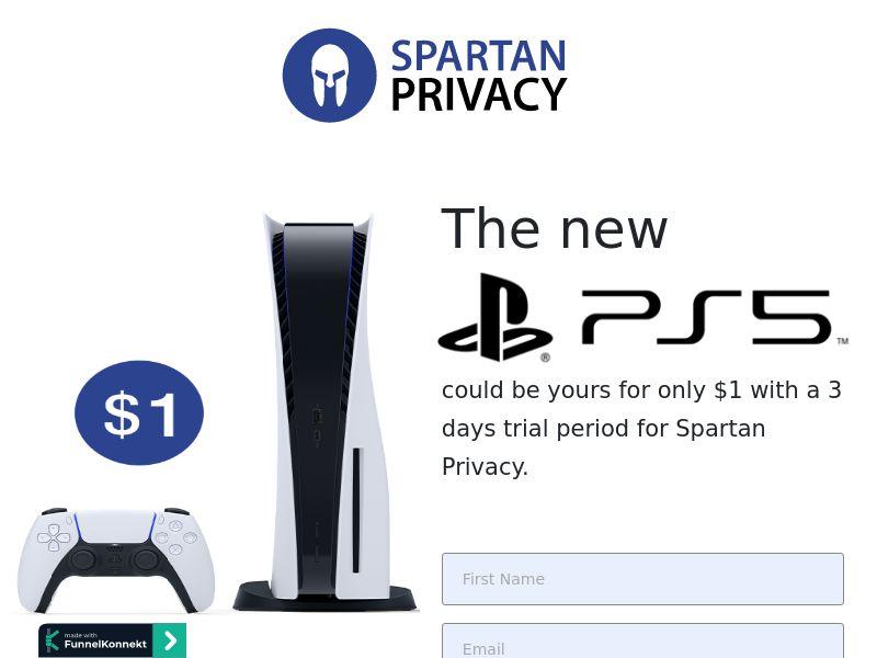 Spartan Privacy - PS5