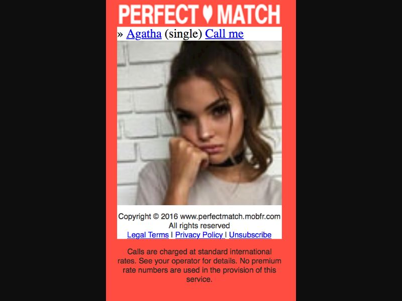 Perfect Match - CPA - Click to Call - SY - Sexy Dating - Mobile