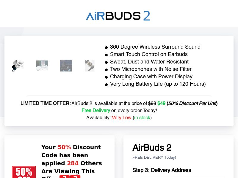 AirBuds 2 (INTL) (CPS)