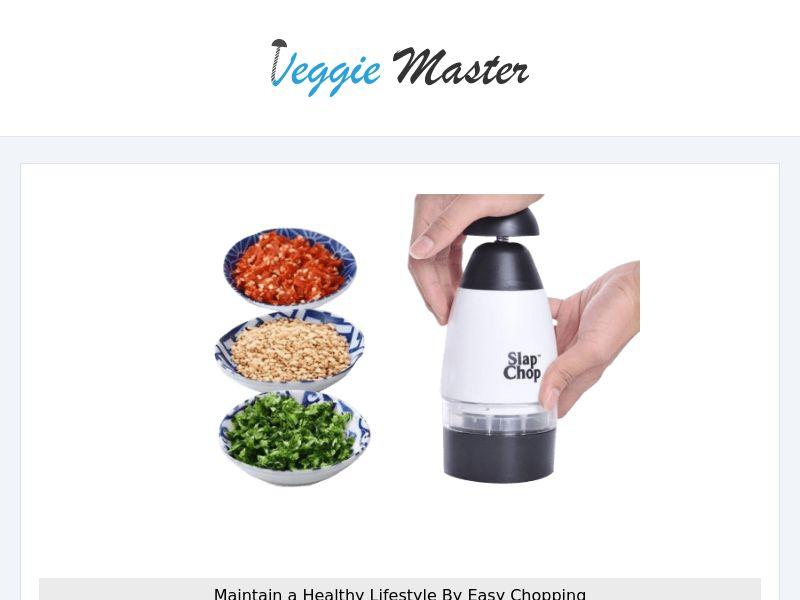 VeggieMaster - Veggie Chopper - CPA - [INTERNATIONAL]