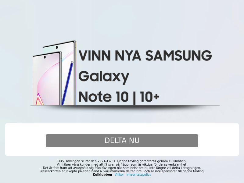 Samsung Note 10 - SE
