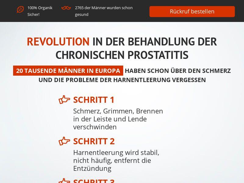 ProstEro DE - prostatitis, adenoma and hyperplasia product
