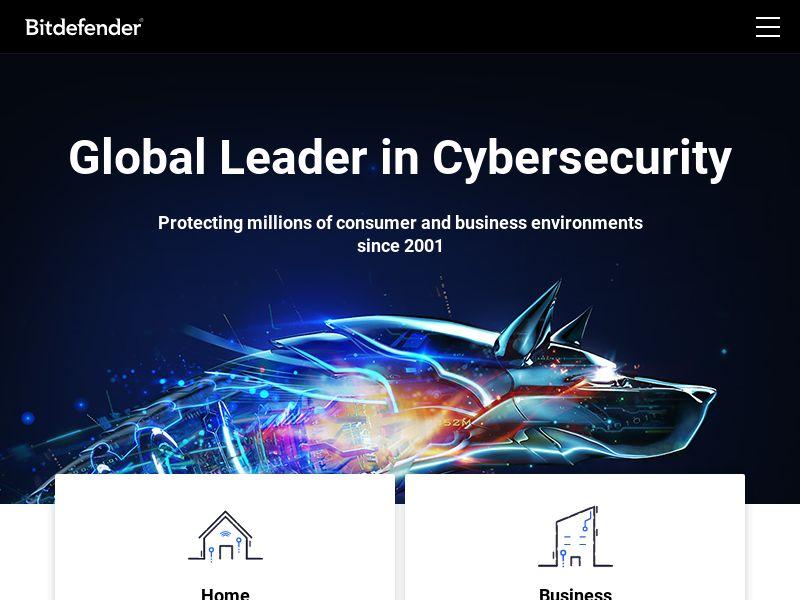 Bitdefender.com CPS - CA, USA, IN, JP, BE, DE, AU, AR, UK, AT, IT, TW, IE, FR & ES