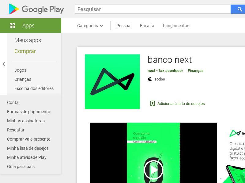 Banco Next Direct Android BR