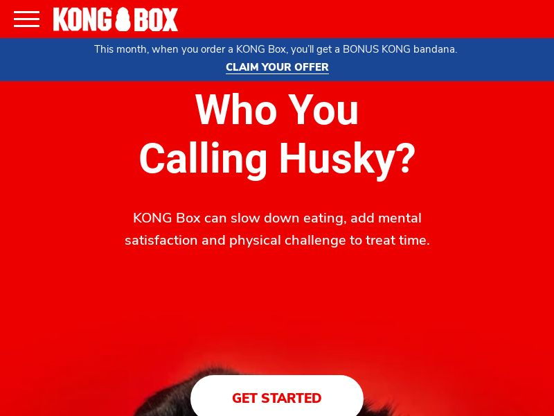 Kong Box - Subscription Box for Dogs - Special Monthly Gift - CPA - [US/CA]