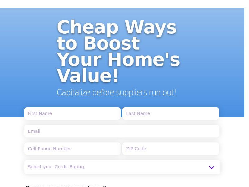 Matchyourcredit.com - EVERYONE Deserves Affordable Housing CPL US [SOI]