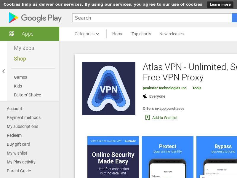 TIER3 - Atlas VPN_Android_CPR