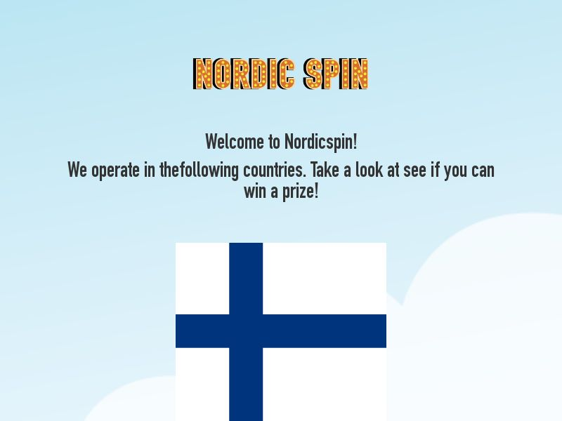 [FI] CPL - Nordicspin Christmas - Spin the wheel and win (All Days | All Domains)