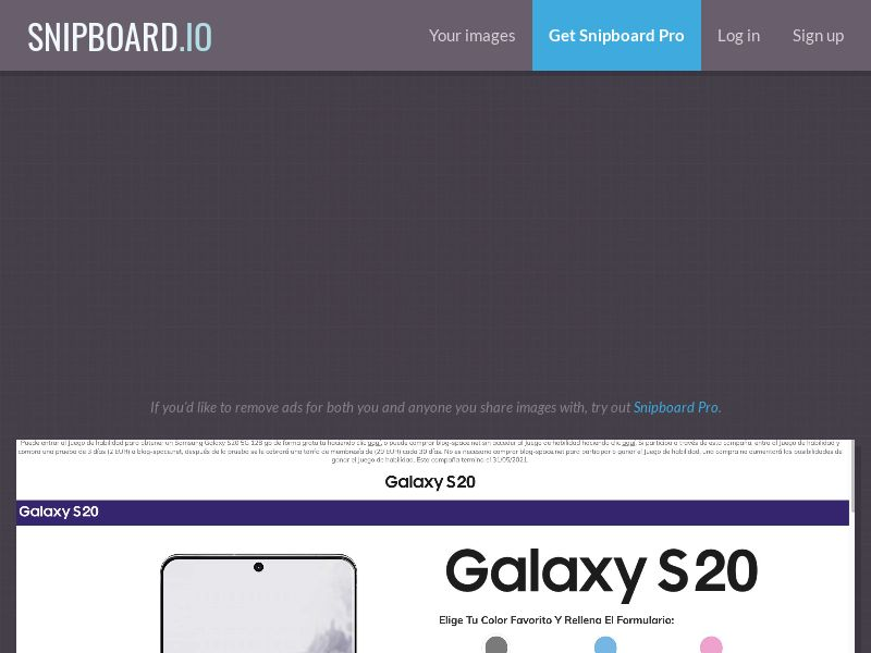 40312 - ES - BigEntry - Samsung Galaxy S20 v1 - CC submit