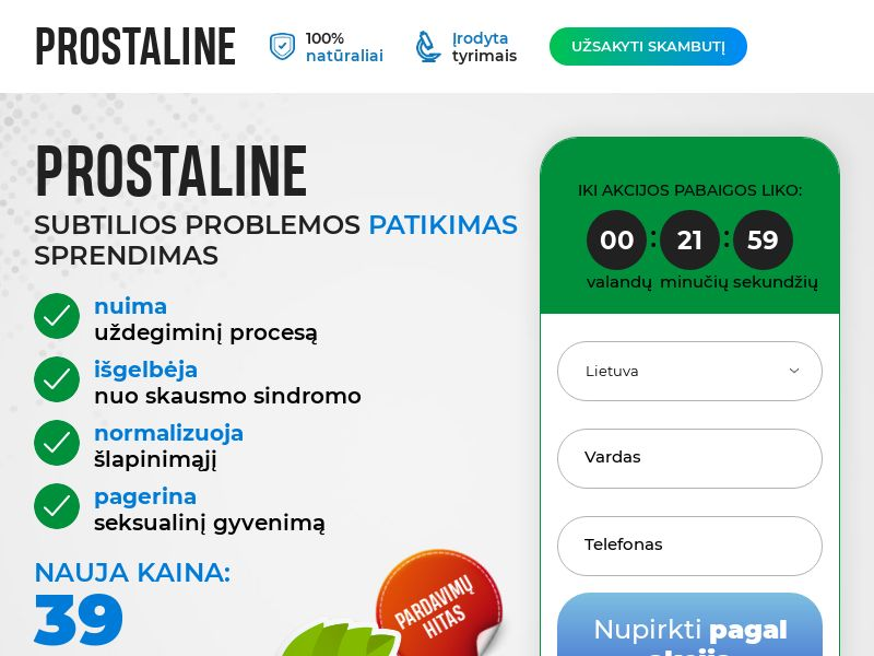 Prostaline LT
