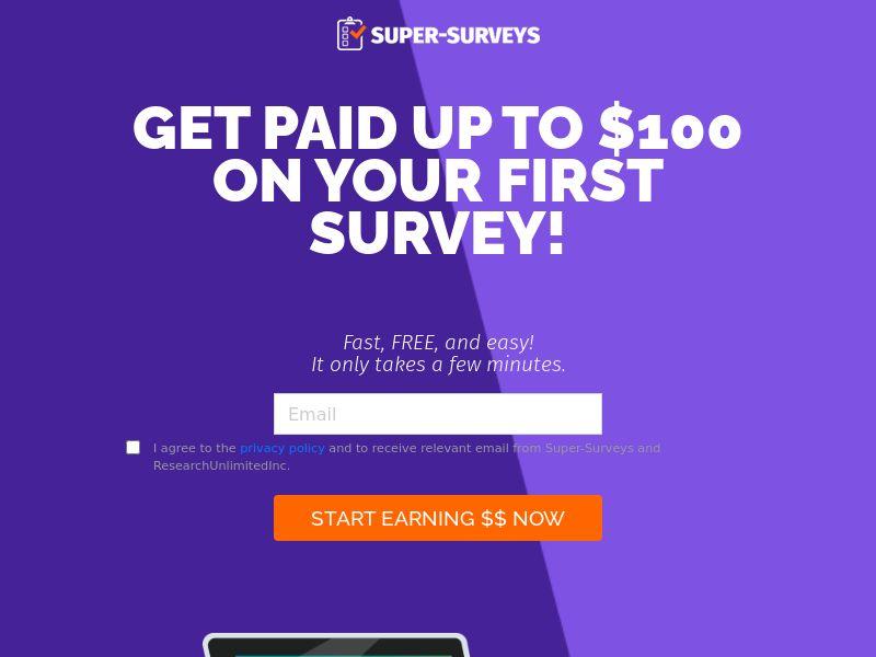 Super Surveys [US] (Email,Social,Banner,Native,Push,SEO,Search,SMS) - CPL {CAPs}