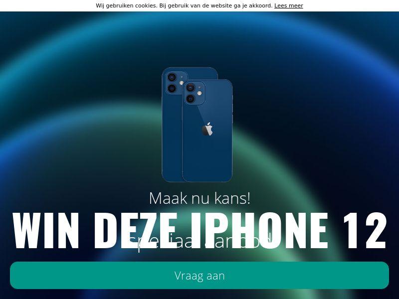 Win de iPhone 12! - BE