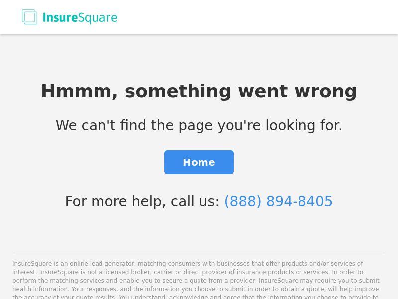 Insurance - Auto - Insure Square - InsureSquare.com - Display (US)