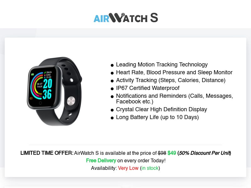AirWatch S (INTL) (CPS) (Personal Approval)