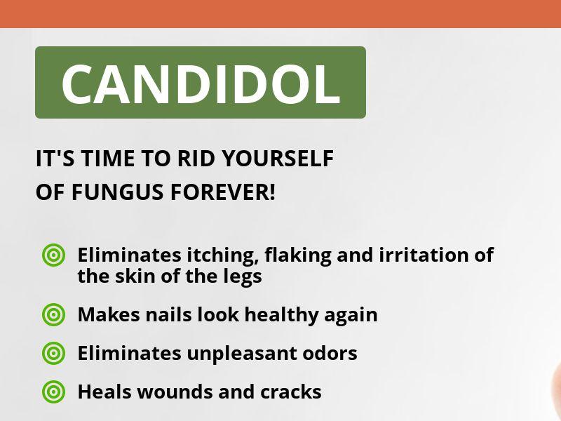 Candidol SG - antifungal solution